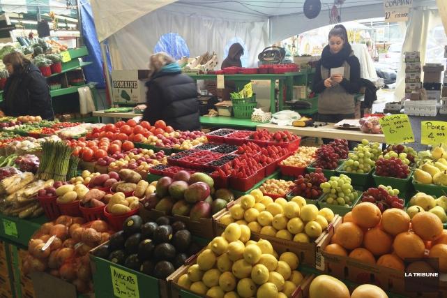 Le marché Atwater constitue un arrêt intéressant pour... (La Tribune, Jonathan Custeau)
