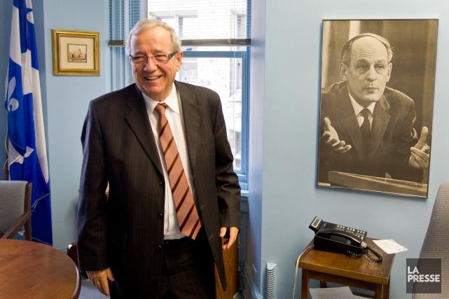Le député du Bloc québécois, Louis Plamondon... (IVANOH DEMERS, ARCHIVES LA PRESSE)