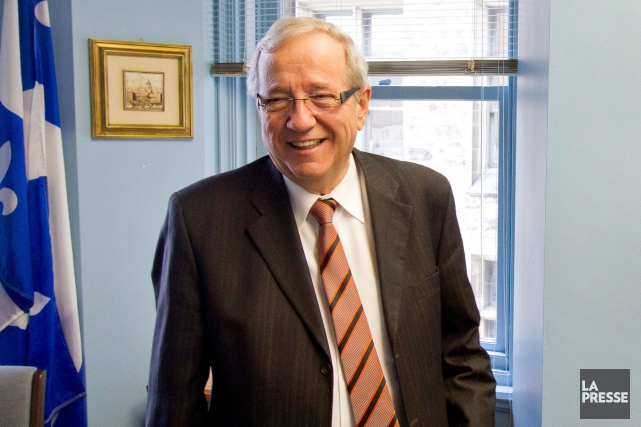 Le député du Bloc québécois, Louis Plamondon... (Archives La Presse)