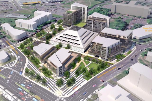 Le projet de développement de la ceinture de... (- Illustration fournie par Développement Immobilier GCS)