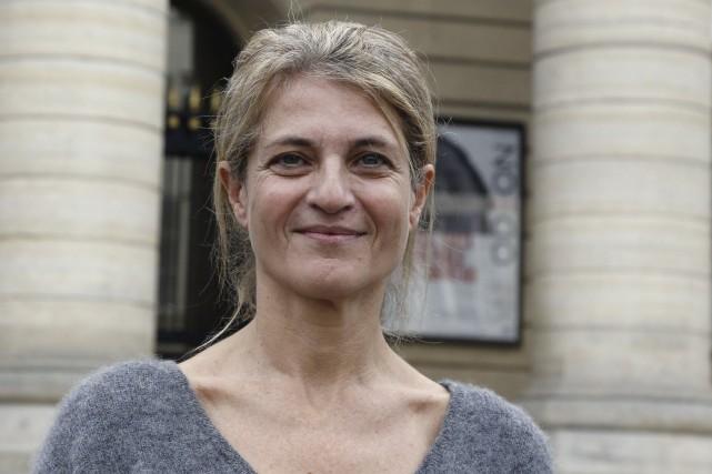 L'écrivaine Nathalie Azoulaia imaginé un chagrin d'amour contemporain... (AFP, François Guillo)