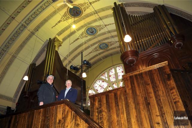 L'orgue Casavant est une pièce unique d'une valeur inestimable, faisant partie... (Archives La Voix de l'Est)