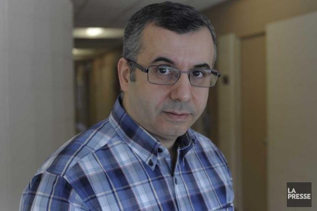 Le président du Syndicat des professeur(e)s de l'UQTR,... (Sylvain Mayer)