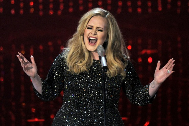 Adele proposera le 20 novembre son premier album... (AP, Chris Pizzello)