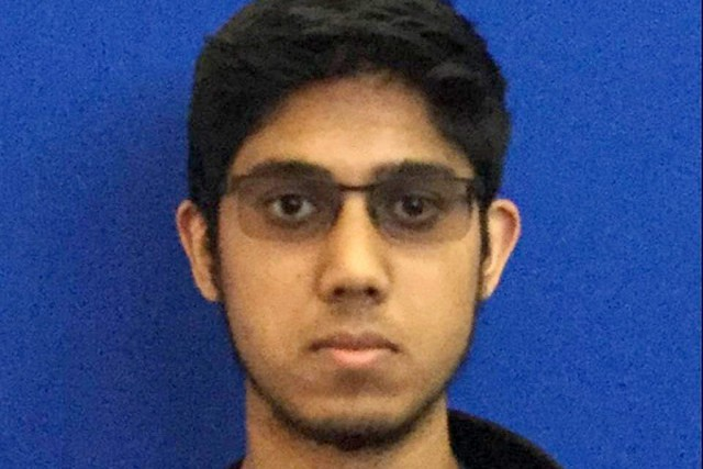 Faisal Mohammad, un étudiant en informatique et en... (PHOTO UNIVERSITY OF CALIFORNIA, MERCED, VIA AP)