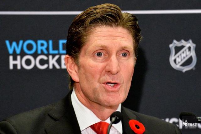 Mike Babcock... (La Presse Canadienne, Nathan Denette)