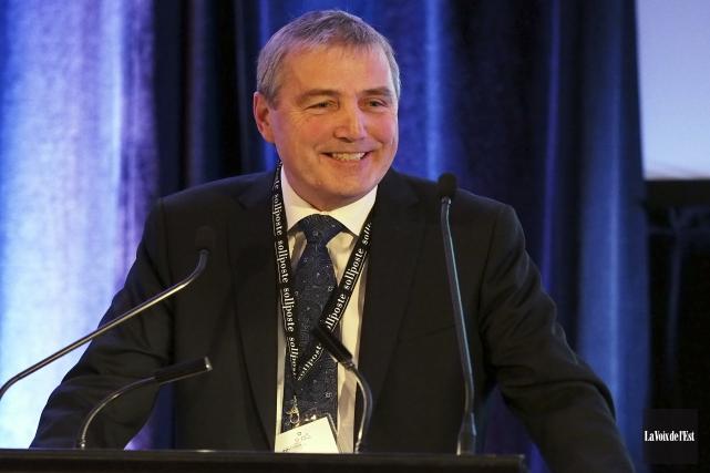 Le président directeur général du Groupe Capitales Médias,... (Alain Dion, La Voix de l'Est)
