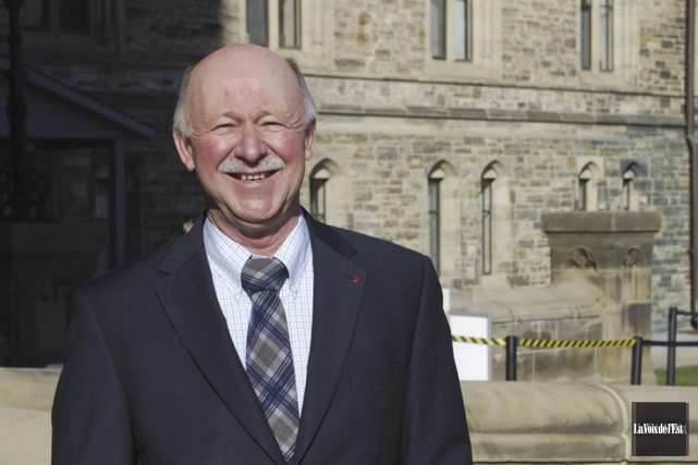 Le député Denis Paradis à Ottawa... (Archives La Voix de l'Est)