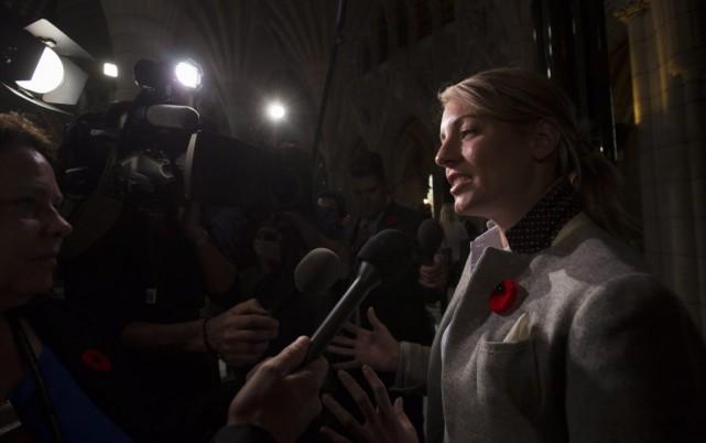 La ministre du Patrimoine canadien, Mélanie Joly.... (Sean Kilpatrick, PC)