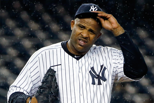 Le lanceur C.C. Sabathia a quitté les Yankees... (Photo Kathy Willens, archives AP)