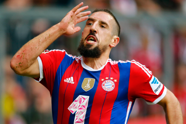 Franck Ribéry... (Photo Michael Dalder, archives Reuters)