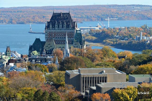 La région de Québec fait encore très belle... (Le Soleil, Patrice Laroche)