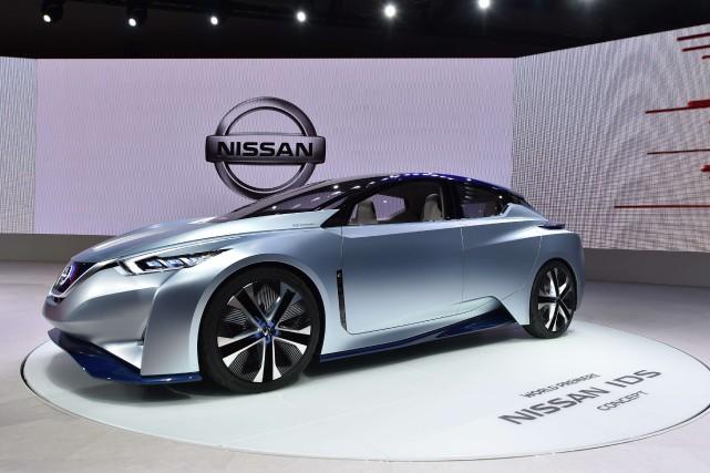 La Nissan IDS... (PHOTO  KAZUHIRO NOGI, AFP)