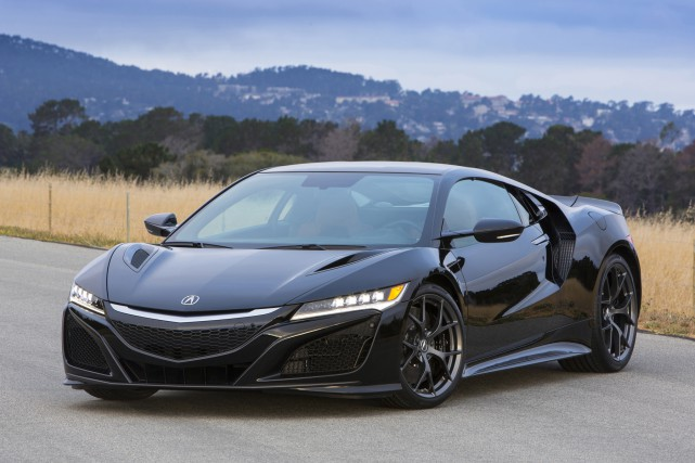 La Acura NSX... (PHOTO FOURNIE PAR ACURA)