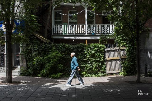 Plus de Canadiens que jamais vivent seuls, démontrent les données du... (Photo Édouard Plante-Fréchette, archives La Presse)