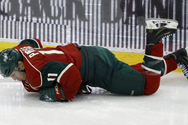 Zach Parise... (PHOTO ANN HEISENFELT, ASSOCIATED PRESS)