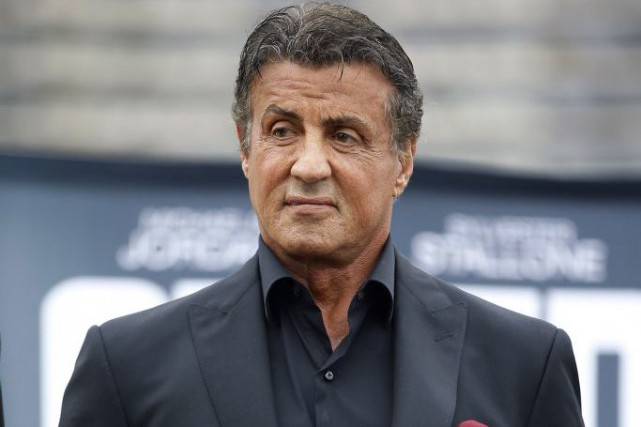 Sylvester Stallone à Philadelphie.... (PHOTO AP)