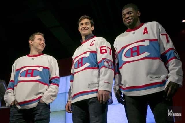 Brendan Gallagher, Max Pacioretty et P.K. Subban ont... (PHOTO FRANÇOIS ROY, LA PRESSE)