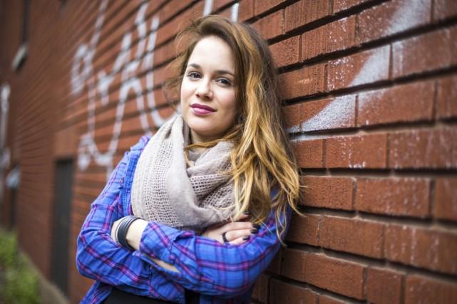 Révélée en 2013 par La Voix, Andie Duquette... (Olivier Croteau)