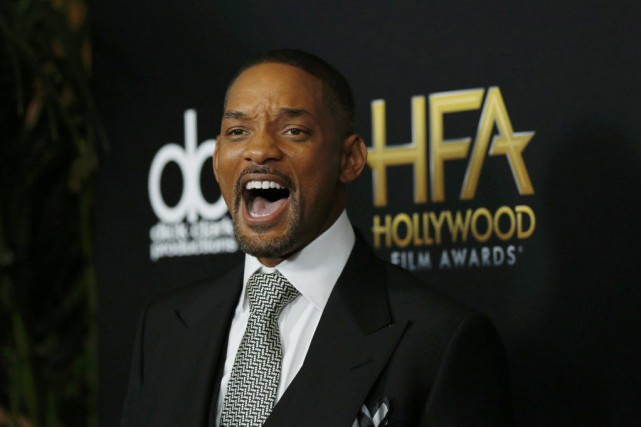 Will Smith à son arrivée à la cérémonie... (PHOTO MARIO ANZUONI, REUTERS)