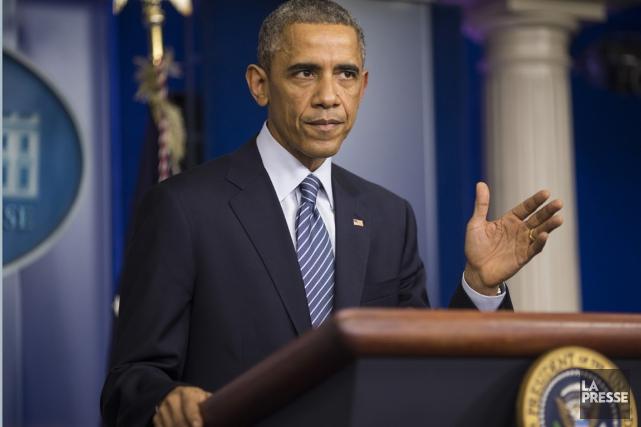 Barack Obama... (La Presse)