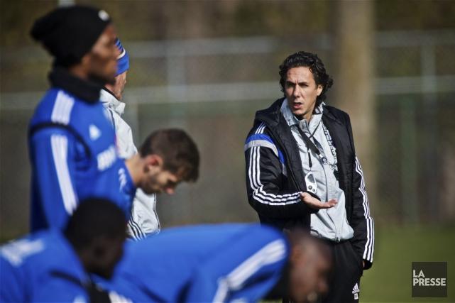 Les joueurs de Mauro Biello accéderont à la... (PHOTO ANDRÉ PICHETTE, LA PRESSE)