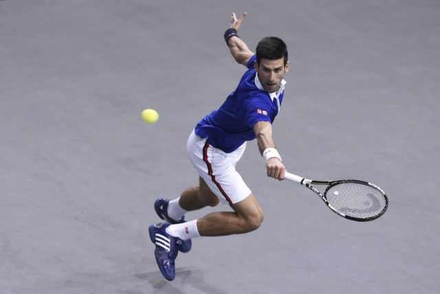 Novak Djokovic... (PHOTO MIGUEL MEDINA, AFP)