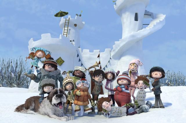 Joies de l'hiver, élans du coeur et larmes glacées, portrait de l'enfance... (Courtoisie)