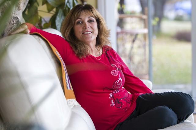 Linda Brunet a dû apprendre à vivre avec... (Olivier Croteau)