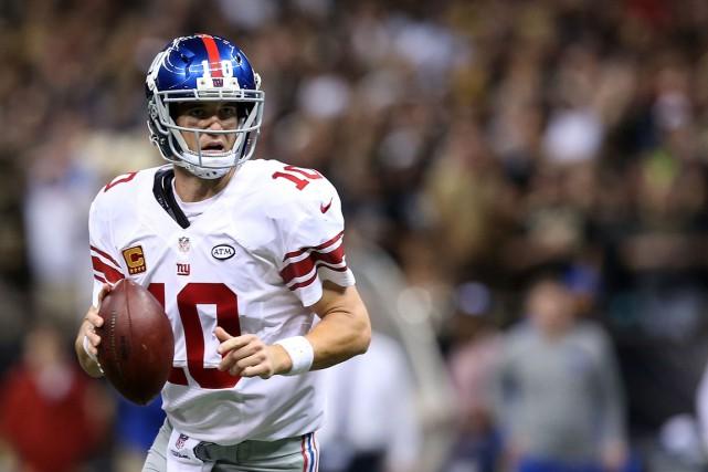 Eli Manning, des Giants de New York.... (AFP)