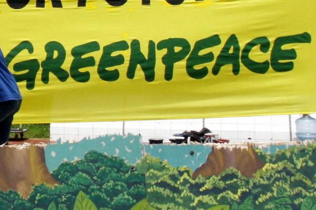 Greenpeace Canada a qualifié la décision de «victoire... (Archives AFP)