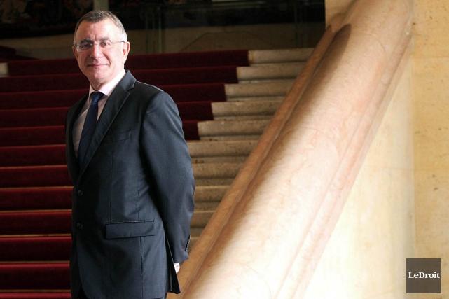 L'ambassadeur de la France au Canada Nicolas Chapuis... (Photo Etienne Ranger, LeDroit)