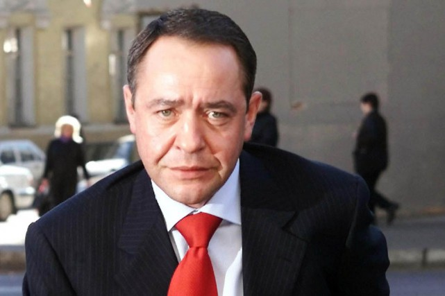 Mikhail Lesin, ici en 2002, ancien ministre russe de... (Photo Alexander Natruskin, archives REUTERS)