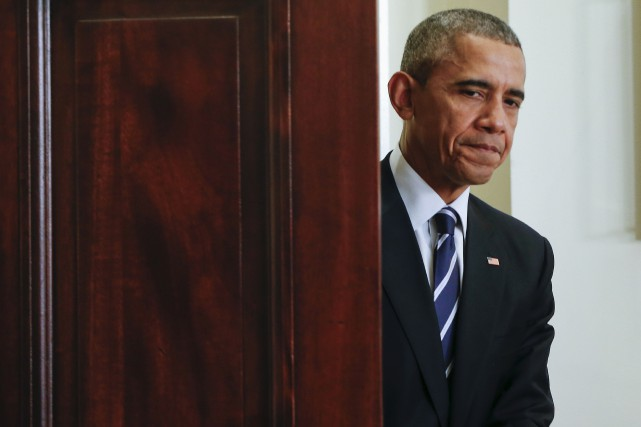 M. Obama en a fait l'annonce vendredi midi,... (Pablo Martinez Monsivais, Associated Press)