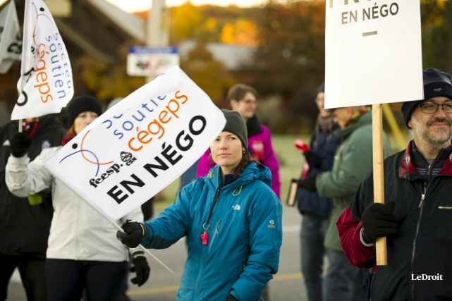 Plus de 12000 personnes débraieront en Outaouais la... (Martin Roy, Archives LeDroit)
