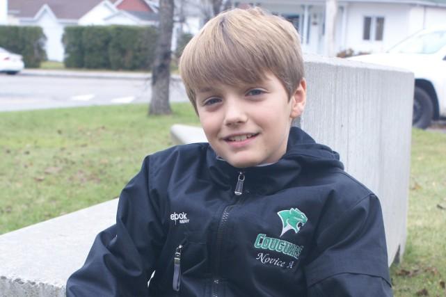 Depuis l'âge de six ans, par pur hasard,... (Photo Le Progrès-Dimanche, Mélissa Viau)