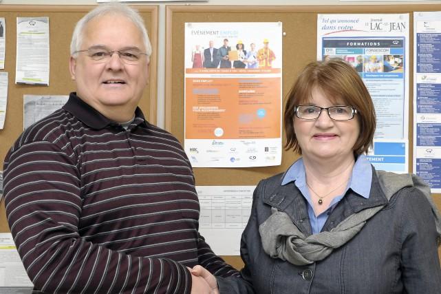 Robin Harvey, d'Emploi-Québec Saguenay-Lac-Saint-Jean et directeur du CLE... (Archives Le Progrès-Dimanche, Gimmy Desbiens)