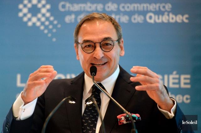L'homme d'affaires et ancien ministre Martin Cauchon.... (Archives Le Soleil)