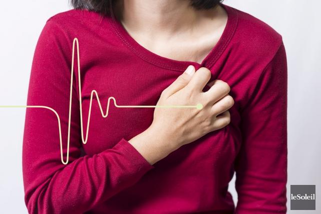 Comme beaucoup d'autres maladies, celles du coeur tuent... (Infographie Le Soleil)