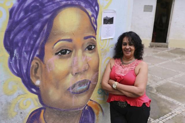 Raquel de Oliveira a étéla femme de Naldo,... (AFP, Tasso Marcelo)