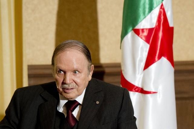 Le président algérien, Abdelaziz Bouteflika... (PHOTO ARCHIVES AFP)