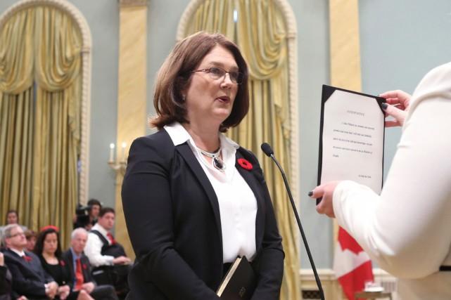 La nouvelle ministre fédérale de la Santé, Jane... (AFP, Chris Wattie)