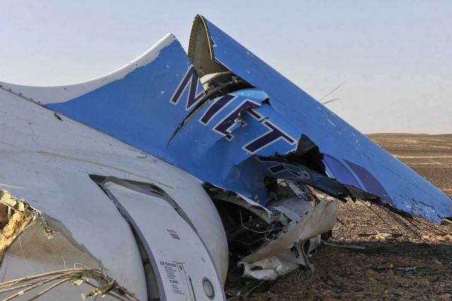 L'Airbus A321-200 russe s'est écrasé le 31 octobre... (PHOTO AFP, SELIMAN AL-OTEIFI)