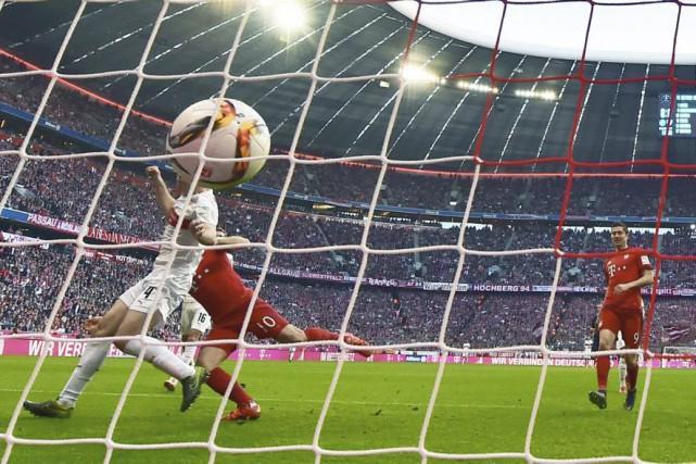 Si le Bayern n'est «pas encore prêt pour... (PHOTO PETER KNEFFEL, AFP)