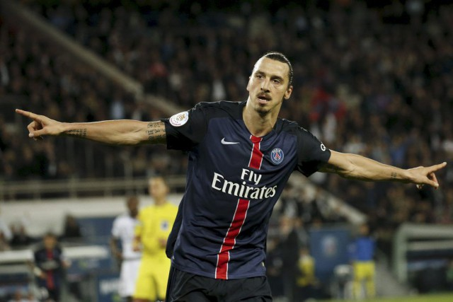 Zlatan Ibrahimovic... (PHOTO BENOIT TESSIER, REUTERS)