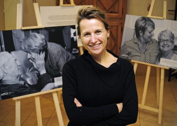 La directrice générale de l'organisme l'Appui Mauricie, Florence... (Photo: Andréanne Lemire)