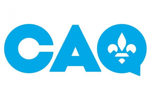 La Coalition avenir Québec (CAQ) se donne un nouveau logo «nationaliste»,... (IMAGE FOURNIE PAR LA CAQ)