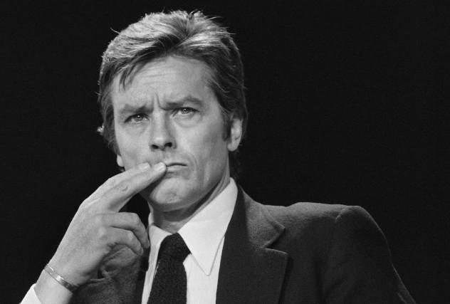 Alain Delon en 1981.«J'ai été programmé pour le... (AFP, Georges Bendrihem)