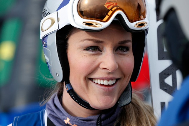 Lindsey Vonn... (PHOTO ROBERT F. BUKATY, ARCHIVES AP)