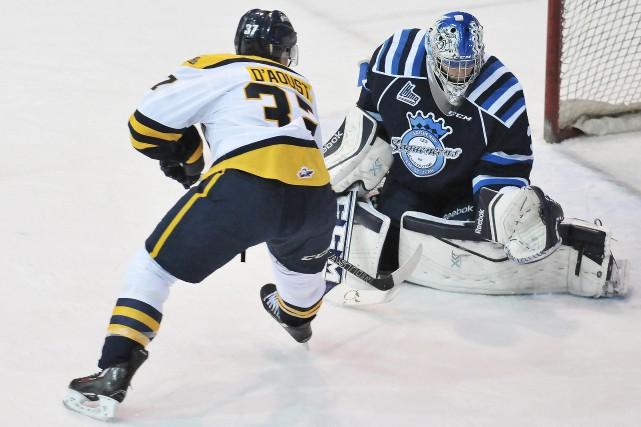 Saguenay ne peut plus laisser la concession de l'équipe de hockey des... (Archives Le Progrès-Dimanche)